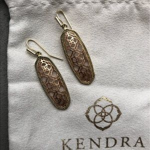 Kendra Scott Brenden Earrings in Rose Gold